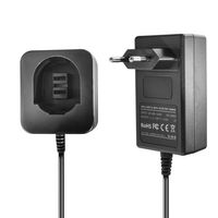 Ladegerät kompatibel mit Dewalt / Black & Decker Ni-MH/Ni-CD Werkzeug-Akkus 3.6V, 7.2V, 9.6V, 12V, 14.4V, 18V - 1.5A, 1A